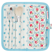 Buy Cath Kidston Provence Rose Teen Mini Natural Bristle Makeup Brush Set Online at johnlewis.com
