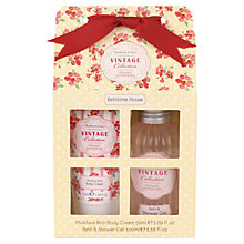 Buy Heathcote & Ivory Vintage Collection Mimosa & Pomegranate Bath Time House Online at johnlewis.com