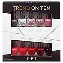OPI Nails Nail Lacquer Trend On Ten 10 Pack Gift Set