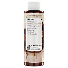 Buy Korres Vanilla Cinnamon Shower Gel, 250ml Online at johnlewis.com