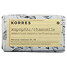 Buy Korres Chamomile Softening Soap, 125g Online at johnlewis.com