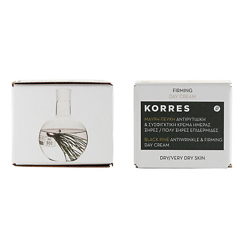 Buy Korres Black Pine Antiwrinkle And Firming Day Cream, 40ml Online at johnlewis.com