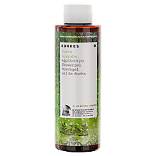 Buy Korres Guava Shower Gel, 250ml Online at johnlewis.com