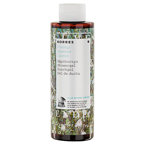 Buy Korres Jasmine Shower Gel, 250ml Online at johnlewis.com