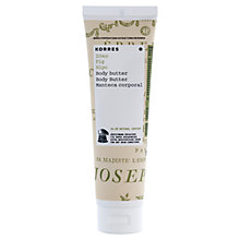 Buy Korres Fig Body Butter, 125ml Online at johnlewis.com