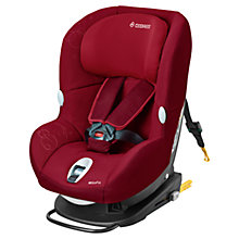 Buy Maxi-Cosi MiloFix 2-in-1 Car Seat, Raspberry Red Online at johnlewis.com