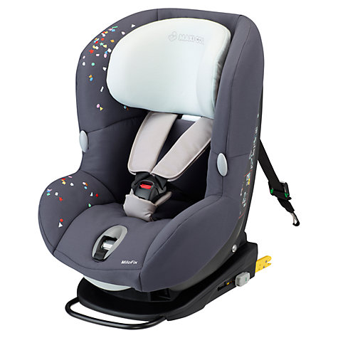 Buy Maxi-Cosi MiloFix 2-in-1 Car Seat, Confetti Online at johnlewis.com