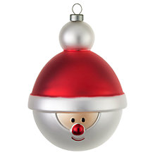 Buy Alessi Babbonatale Christmas Bauble Online at johnlewis.com