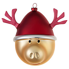 Buy Alessi Babbarenna Christmas Bauble Online at johnlewis.com