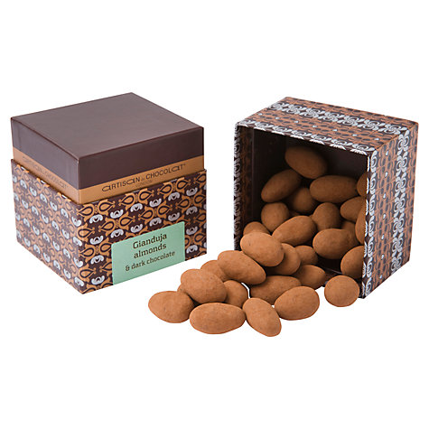 Buy Artisan du Chocolat Scorched Cocoa Dusted Praline Almonds, 100g Online at johnlewis.com