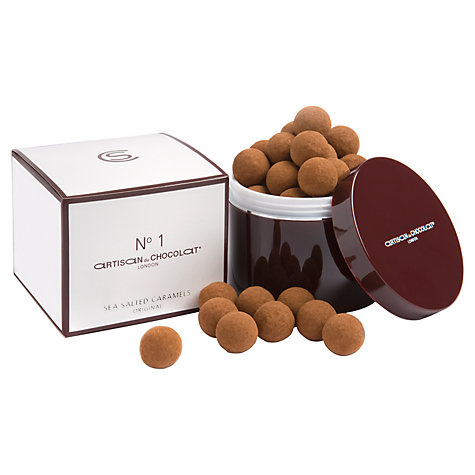 Buy Artisan du Chocolat Original N°1 Dark Liquid Salted Caramels, 130g Online at johnlewis.com