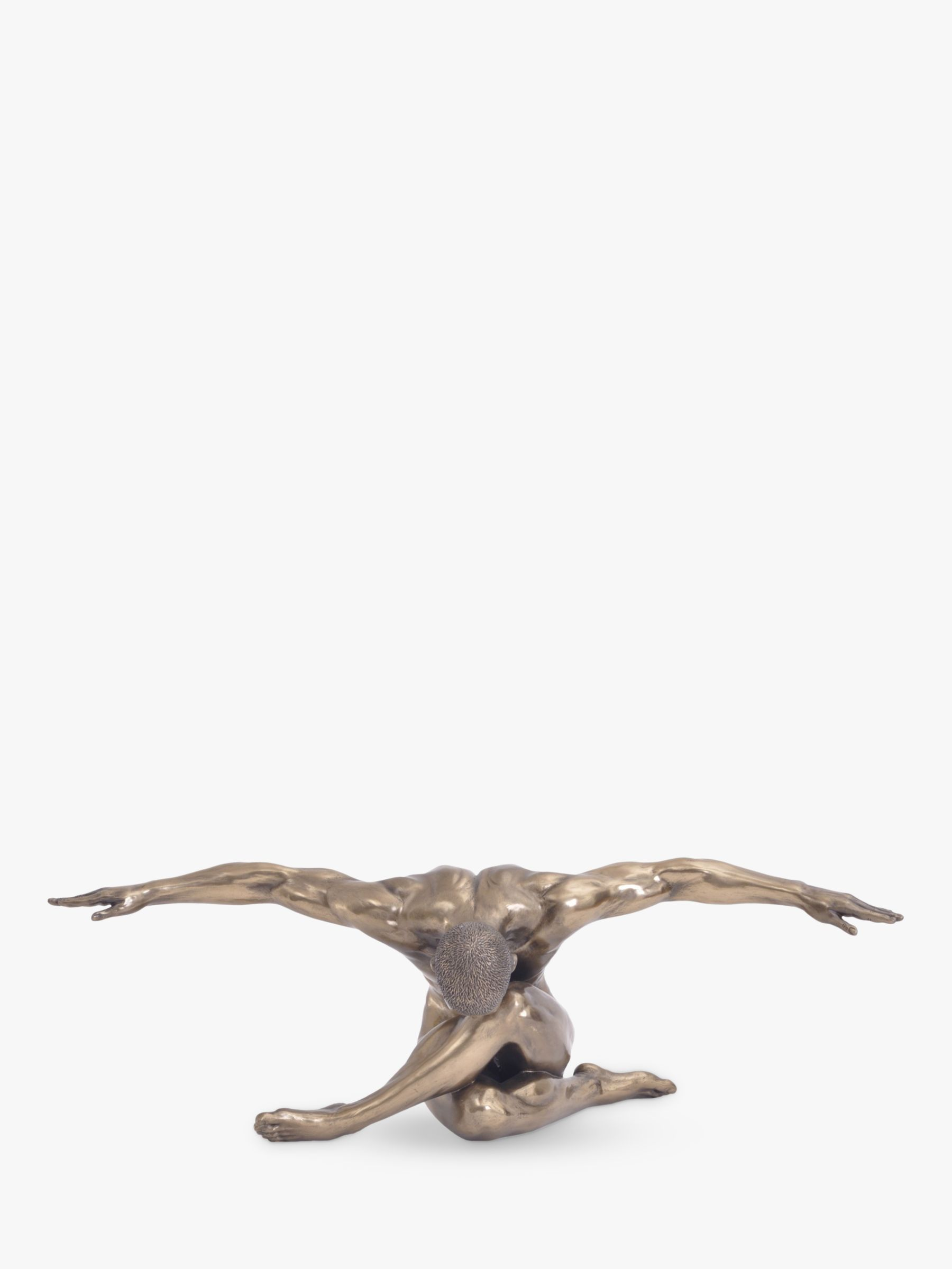 Libra Libra Male Nude Arms Outstretched Sculpture