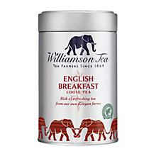 Buy Williamson Tea English Breakfast Loose Leaf Tea, 100g Online at johnlewis.com