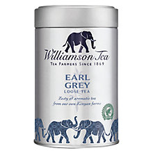 Buy Williamson Tea Earl Grey Loose Leaf Tea, 100g Online at johnlewis.com