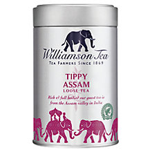 Buy Williamson Tea Tippy Assam Loose Leaf Tea, 100g Online at johnlewis.com