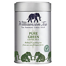 Buy Williamson Tea Pure Green Loose Leaf Tea, 100g Online at johnlewis.com