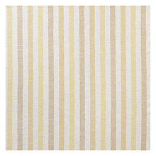 Buy John Lewis Brooklyn Stripe Woven Fabric, Yellow, Price Band C Online at johnlewis.com