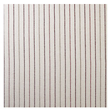 Buy Lawson Stripe, Burgundy, Price Band B Online at johnlewis.com