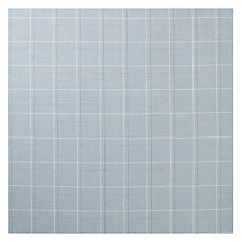 Buy John Lewis Coppice Check Fabric, Duck Egg, Price Band C Online at johnlewis.com