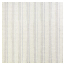 Buy John Lewis Parton Stripe Twill Fabric, Natural Duck Egg, Price Band D Online at johnlewis.com