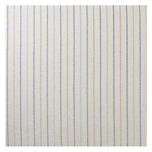 Buy John Lewis Lawson Stripe Fabric, Blue, Price Band B Online at johnlewis.com