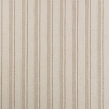 Buy John Lewis Parton Stripe Twill Fabric, Natural, Price Band D Online at johnlewis.com