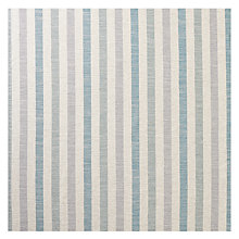 Buy John Lewis Brooklyn Stripe Woven Fabric, Green, Price Band C Online at johnlewis.com
