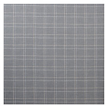 Buy John Lewis Coppice Charcoal Check Fabric, Price Band C Online at johnlewis.com