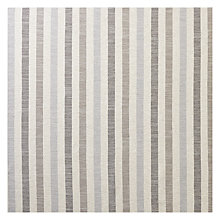 Buy John Lewis Brooklyn Stripe Woven Fabric, Charcoal, Price Band C Online at johnlewis.com