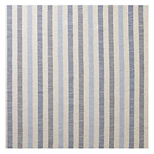 Buy John Lewis Brooklyn Stripe Woven Fabric, Blue, Price Band C Online at johnlewis.com