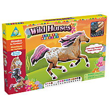 Buy Sticky Mosaics Wild Horses Craft Kit Online at johnlewis.com