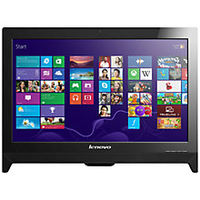 "Buy Lenovo C260 All-in-One Desktop PC, Intel Pentium, 4GB RAM, 1TB, 19.5"" Online at johnlewis.com"