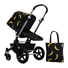 Buy Bugaboo Chameleon3 Andy Warhol Sun Canopy & Tote Bag, Banana/Black Online at johnlewis.com