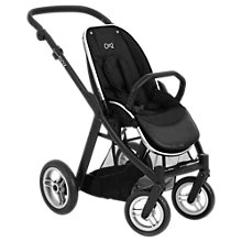 Buy BabyStyle Oyster Max Stroller Chassis and Seat, Black Online at johnlewis.com