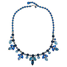 Buy Susan Caplan Vintage 1950s Regency Aurora Borealis Swarovski Crystal Necklace Online at johnlewis.com