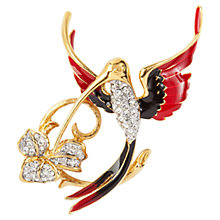 Buy Susan Caplan Vintage 1970s Attwood & Sawyer Hummingbird Brooch Online at johnlewis.com