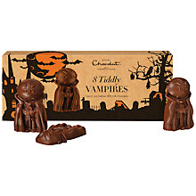 Buy Hotel Chocolat Milk Chocolate Tiddly Vampires, 85g Online at johnlewis.com