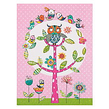 Buy Rachel Ellen Owl Notelets, Pack of 5 Online at johnlewis.com