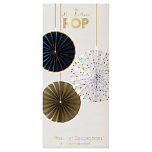 Buy Meri Meri Pop Pinwheel Party Decorations, Pack of 6 Online at johnlewis.com