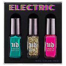 Buy Urban Decay Electric Nail Colour Trio, 3 x 5ml Online at johnlewis.com