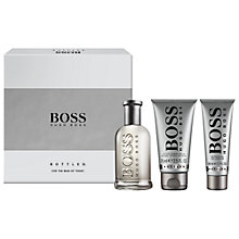 Buy BOSS Bottled 100 Eau de Toilette Gift Set Online at johnlewis.com
