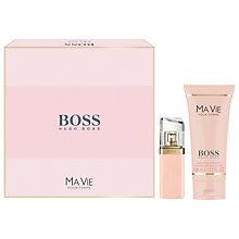 Buy HUGO HUGO BOSS Ma Vie Pour Femme Eau de Parfum Fragrance Gift Set Online at johnlewis.com