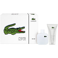 Buy Lacoste Eau De Lacoste Blanc Gift Set Online at johnlewis.com