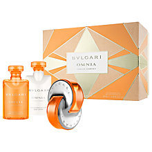Buy Bvlgari Omnia Indian Garnet Gift Set Online at johnlewis.com