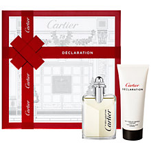 Buy Cartier Declaration Eau de Toilette Gift Set Online at johnlewis.com