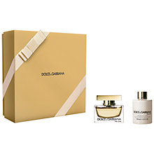 Buy Dolce & Gabbana The One Gift Set Online at johnlewis.com