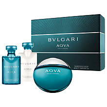 Buy Bvlgari Aqua Pour Homme Gift Set Online at johnlewis.com