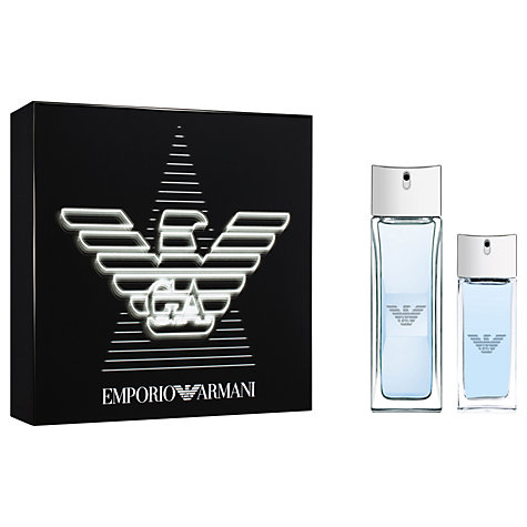Buy Emporio Armani Diamonds Rocks For Men Eau de Toilette Online at johnlewis.com