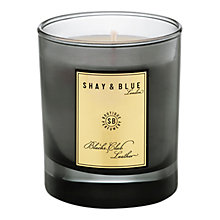 Buy Shay & Blue Blacks Club Leather Natural Scented Wax Candle, 140g Online at johnlewis.com