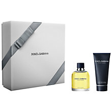 Buy Dolce & Gabbana Pour Homme Men's Gift Set Online at johnlewis.com